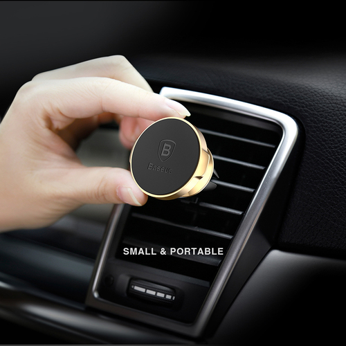 Baseus Car Holder For iPhone X 8 7 Samsung 360 Degree Magnetic Mobile Phone Holder Air Vent Mount Magnet Car Phone Holder Stand