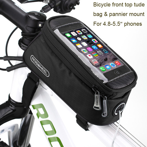 """5.5"""" Bicycle Bike Mobile Cell Phone Holder Waterproof Bag for Oneplus 5/3T/3/Leeco le 2/1s/Asus zenfone max/3/pro/Huawei honor 8"""