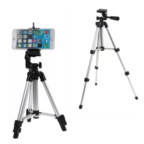 Professional 360 degree Phone Holder For iPhone Samsung HTC 6NEB Rotatable Stand Tripod Mount