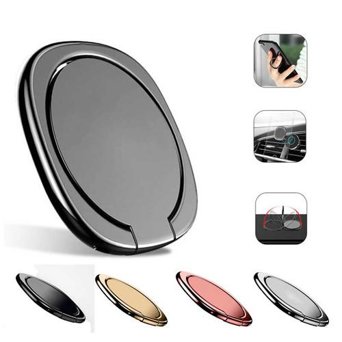 Luxury 360 Degree Metal Finger Ring Holder Smartphone Mobile Phone Finger Stand Holder For iPhone X 7 8 6 6s Plus Samsung Tablet