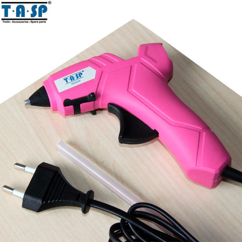 TASP MGG03K 220V DIY Hot Melt Glue Gun High Temperature Melting Repair Tool Kit with 10pcs 7mm Glue Sticks for Craft Projects