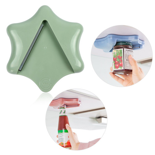 Handy Anti-slip Bottle Jar Opener Manual Firmed Can Lid Opener New Creative Kitchen Twist Tool