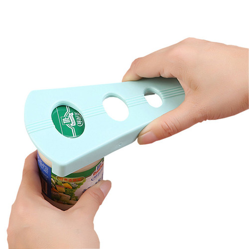 1 Pcs Creative multi-function Handy Anti-slip Can Lid Screw Opener Bottle Opener for Pop/Beer Bottle Jar Kitchen Twist Tool