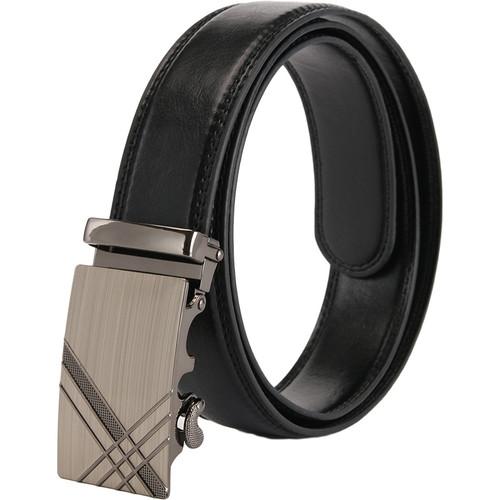 gold jaguar mens belts luxury 2018 designer strap high quality fiber leather automatic buckle high quality genuine leather belt