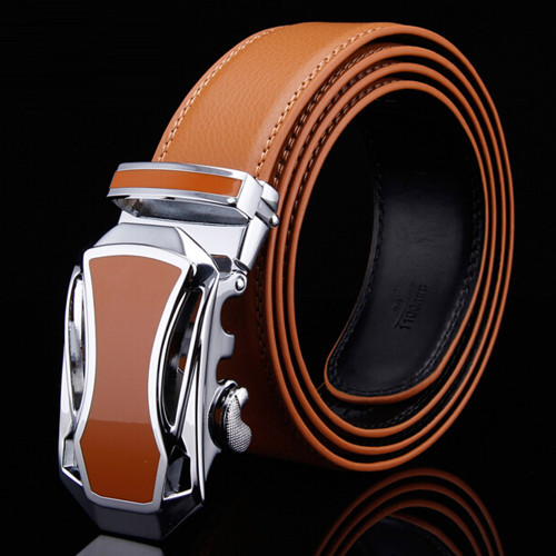 New Arrival Fashion Men Belt Wholesale Price Male Brand Luxury Belts Straps Accessories Waistband with Jaguar Automatic Buckle
