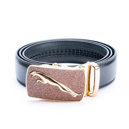 Jaguar 2017 New Business Luxury Designer Belts Men High Quality Male Genuine Real Leather Wedding Strap for Jeans Waistband