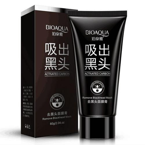 2017 Real Hot Sell Bioaqua Face Care Suction Black Mask Facial Nose Blackhead Remover Peeling Peel Off Head Acne Treatments