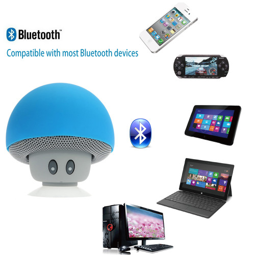 Cute Mushroom Bluetooth Speaker Wireless Portable Speakers Mini Hand Speaker Bluetooth for Mobile Phone PC Tablet