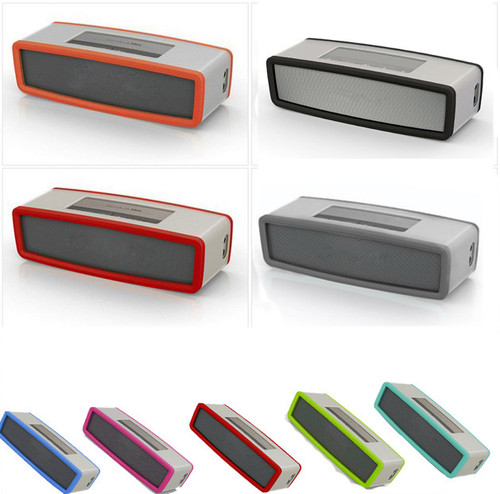 High Recommend Travel Box Silicone Carry Case Bag for BOSE SoundLink Mini Bluetooth Speaker portable speaker