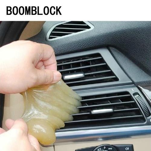 BOOMBLOCK Clean Gel Stickers For BMW F10 F30 E60 Ford Focus 2 3 Fiesta VW Polo Passat B6 KIA Rio Ceed Sportage Mazda 3 6 Cx-5