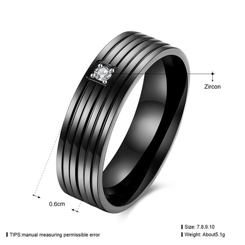 Lover Ring set of man style (1pc ring) KJ-TGR160-D, black gun color, fashion, Woman style KJ-TGR159-D,suggest order by set