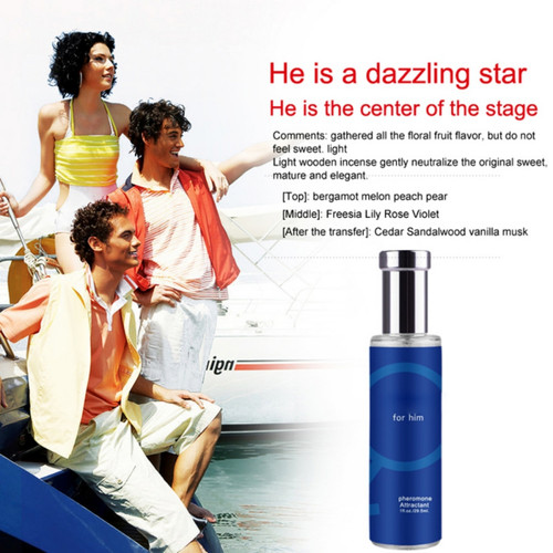 30ml perfumes and fragrances for Woman Seduce Aphrodisiac Spray Oil and Pheromone Flirt V Perfume Men Attracted Boy