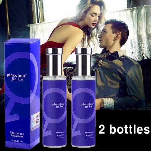 Deodorant perfume for men Seduce aphrodisiac Male spray oil and pheromone flirt perfume men attract girl, free shipping 2 pcs