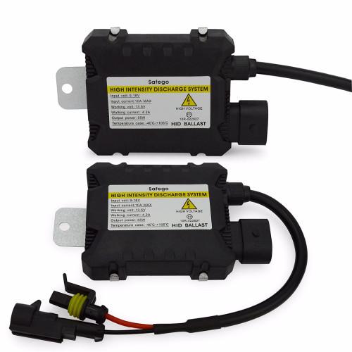 Safego kit Xenon Hid Kit 55W H4 H1 H3 xenon H7 H8 H10 H11 H27 HB3 HB4 H13 9005 9006 HID xenon kit Car Headlight bulbs lamp