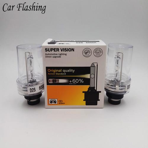 Car Flashing 1 Pair D2S D2R D2C HID Bulbs HID xenon headlight bulb D2 headlamp light 4300K 6000K 8000K 10000K Car Styling