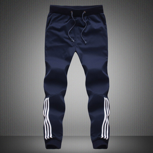 Plus Size 5XL Harem Pant Spring Summer Mens Pants Fashion Skinny Sweatpants Mens Joggers Striped Slim Fitted Pants Gyms Clothing