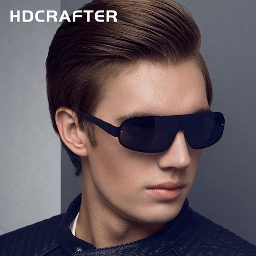 Polarized Sunglasses Men 2018 HDCRAFTER Vintage Sun Glasses Man Brand Designer Lunettes De Soleil Pour Hommes Shades Hot Sell
