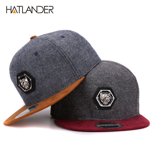 HATLANDER branded adjustable baseball caps women Kpop hip hop cap outdoor flat brim mens hats gorras planas snapbacks for adult
