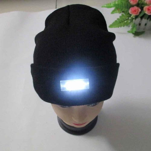 LED Lighting Winter Cap Multifunction Cap for Reading Working Special Unisex Hats for Christmas New Year Party Creative Design