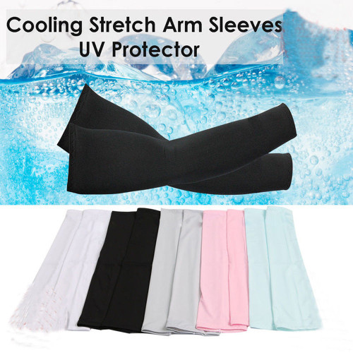 2017 New 1 Pair Cooling Arm Sleeves Cover UV Sun Protection Basketball Golf Athletic Sport