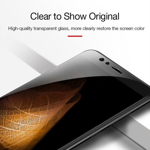 CAFELE HD Clear Tempered Glass for huawei honor 8 9H Ultra Thin Anti Glare Protective Film Screen Protector for huawei honor 8