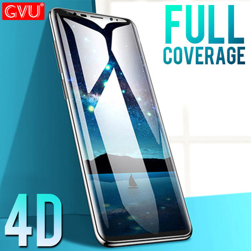 GVU 4D Curved Edge Glass For Samsung Galaxy S9 S8 Plus Screen Protector For Samsung Galaxy S8 S9 Note8 S6 S7edge Plus Glass