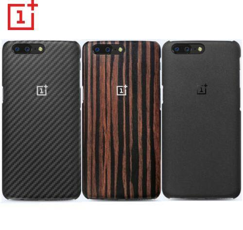 100% Original Oneplus 5 /5T Case Sandstone Black Rosewood Ebony Wood Karbon For Oneplus 5 five One plus 5 5T OP5 Protective Case