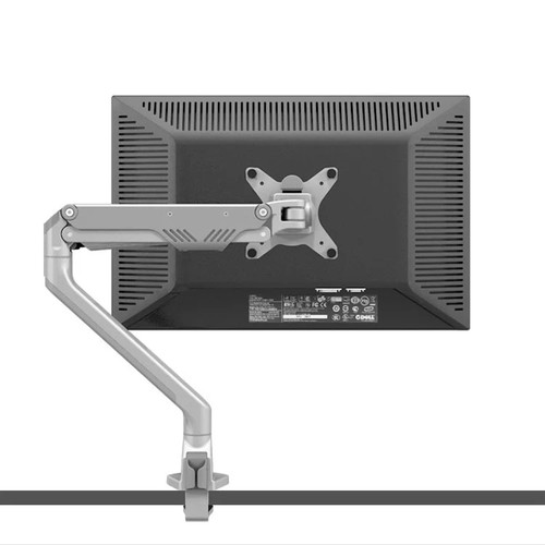 "Aluminum 360 Degree Oil Gas Spring 17""-30"" Monitor Arm Easy and Quick Installation Monitor Holder Mount Loading 2-9kgs"