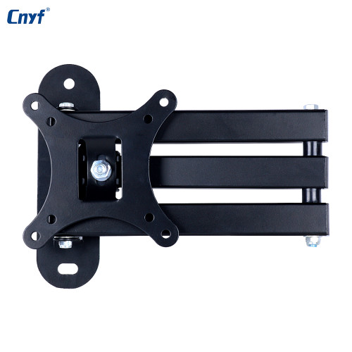 CNYF Universal LCD LED TV PC Monitor Wall Mount Bracket Tilt Swivel Plasma TV Wall Mount VESA 100*100mm/75*75mm