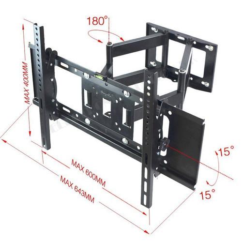 """Full Swivel Tilt LED LCD TVS Wall Mount Bracket for Samsung LG TCL Sony TV 26""""-70"""" 32"""" 35"""" 38"""" 40"""" 42"""" 45"""" 47""""55"""" 60"""" 65"""""""