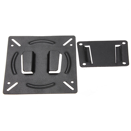 LEORY 2017 TV PC Monitor Wall Mount Holder Bracket for 10-23 Inch Flat Panel Screen LCD LED Display TV Monitor New Black