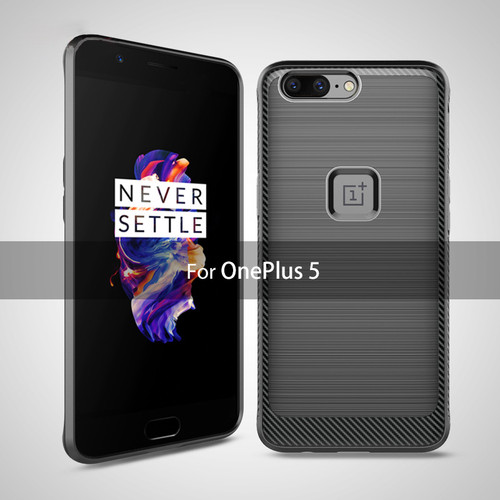 Oneplus 5 Case Roybens Luxury Black Silicone Soft TPU Full Protection Case For Oneplus 5 360 Degree Hybrid Armor Gel Cover Coque