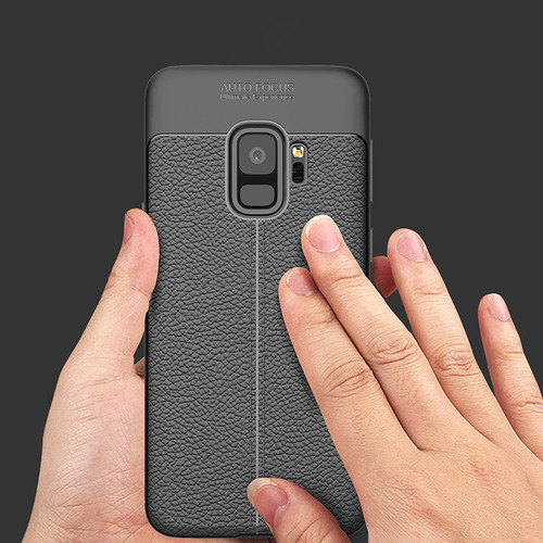 Luxury Leather case For Samsung Galaxy S9 360 Full Protective Back Cover for Samsung Galaxy S9 plus Soft Silicone TPU Case Capa