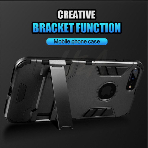 H&A Heavy Duty Armor Shockproof Phone Case For iPhone X 5 6 6s 7 Plus TPU + PC Back Cover For iPhone 7 8 6 5s SE Cases Shell
