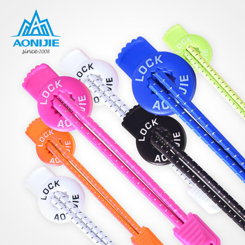 AONIJIE Convenient Quick 120cm Sports Reflective Shoelaces Visible Safty Lock Laces for Climbing Running Riding Hiking