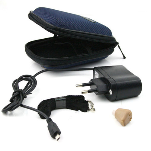 Small and Convenient Rechargeable acousticon In Ear Mini Invisible Hearing Aid Sound Amplifier AXON K-88