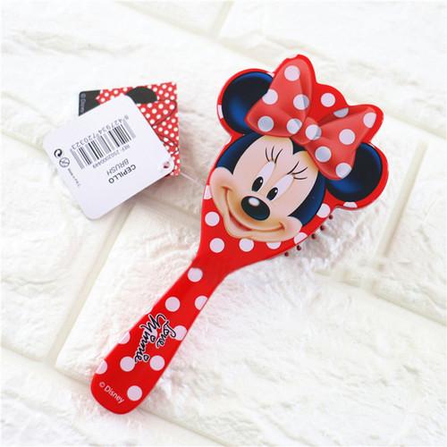 Disney 1Pc Salon Detangling Kids Gentle Anti-static Brush Tangle Wet & Dry Bristles Handle Tangle Comb Curly Hair Brush Combs