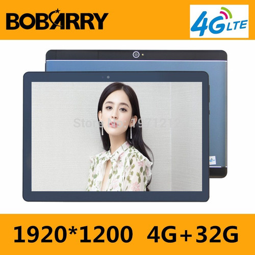 Free Shipping  10 inch tablet 4G FDD LTE Octa Core 4GB RAM 32GB ROM 1920x1200 IPS Kids Gift Tablets 10 10.1 Android 7.0 Tablet p