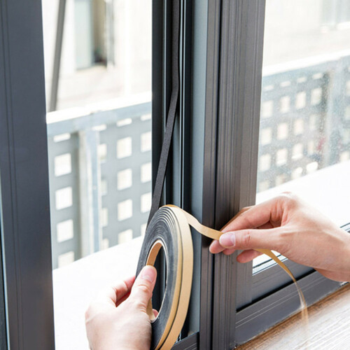 2Rolls/set 2m Kitchen Gas Stove Gap Sealing Adhesive Tape Anti Flouring Dust Proof Waterproof Sink Stove Crack Strip Gap Sealing