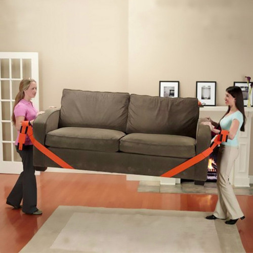 Large Furniture, Large Appliances, Heavy Objects Mobile Moving Belt Moving Rope Carrying Belt