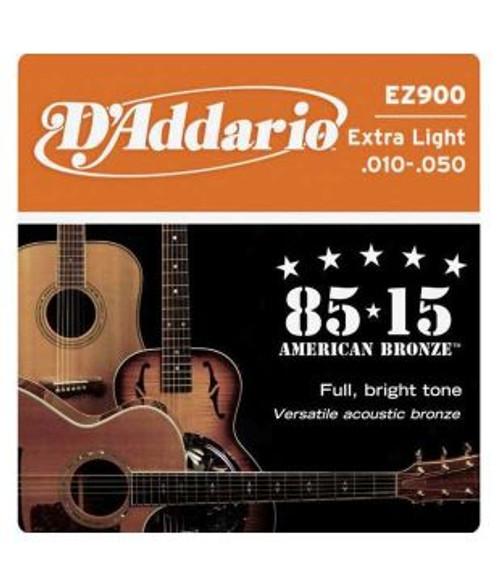 D'Addario EZ900 85/15 Bronze Acoustic Guitar Strings