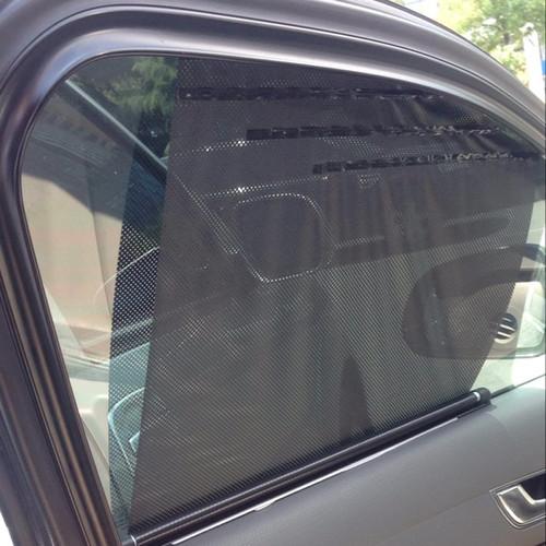New Universal Car Sunscreen Car Curtain Window Auto Car Curtain Side Window Car Sun Shade Window Curtain 52*46*55cm