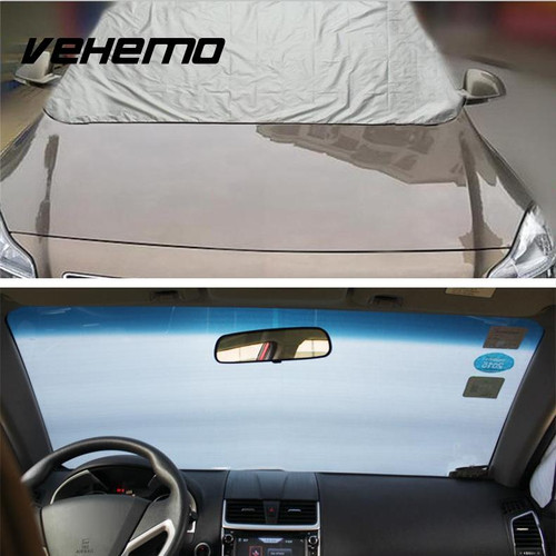 Car Windscreen Heat Sun Shade Anti Snow Frost Ice Dust Shield Cover Protector