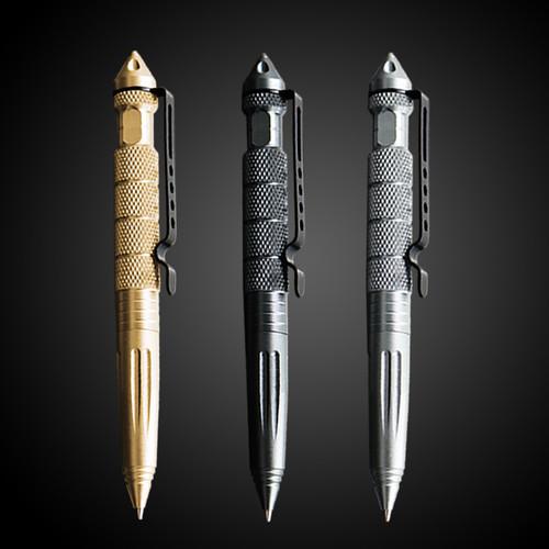1PCS GENKKY Tactical pen tungsten steel rotating unisex pen window metal ballpoint pen multifunctionalmetal pen FREE SHIPPING