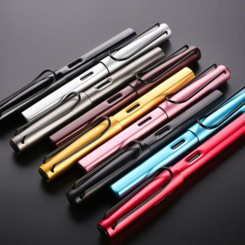 HOT Aluminum Alloy Fountain Pen Extra Fine Nib 0.38mm Metal Pen Gifts