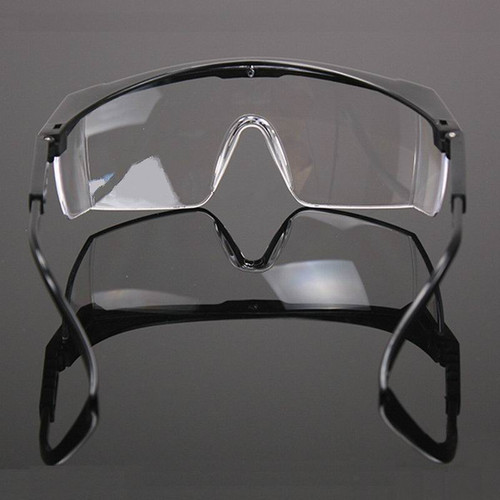 Safety Goggles for Eyes Protection Windproof Dustproof Resistant Transparent Glasses Protective Working Eyewear Adjustable Frame
