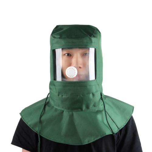 New Labor Face Mask Industrial Work Protection Mask Blasting Hood Sand Abrasive Grit Shot sand Blaster Mask Anti Dust Equipment
