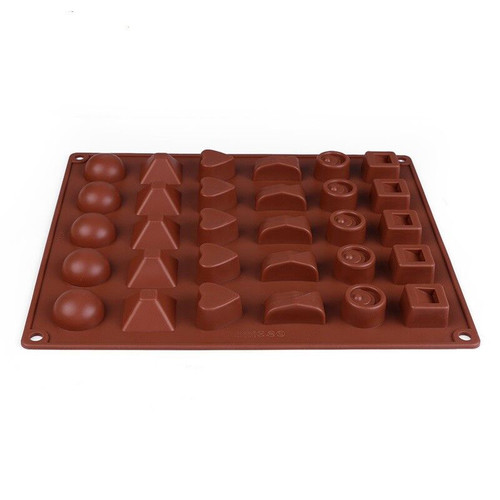 19 Shape 3D Silicone Numbers Fruit Chocolate Mold Candy Cookie Baking Fondant Mold Cake Decoration Tools