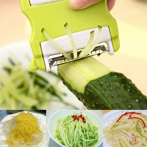 New Arrival Practical Vegetable Potato Carrot Fruit Twister Cutter Slicer Peeler Kitchen Tool