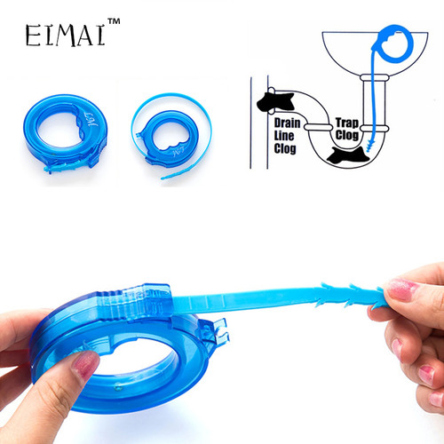 EIMAI  Adjustable Sewer Hair Cleaner Strong Improvement Anti-clogging of Sink Toilet Cleaning Hook UB42